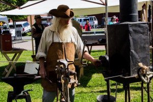 blacksmithing demonstrations