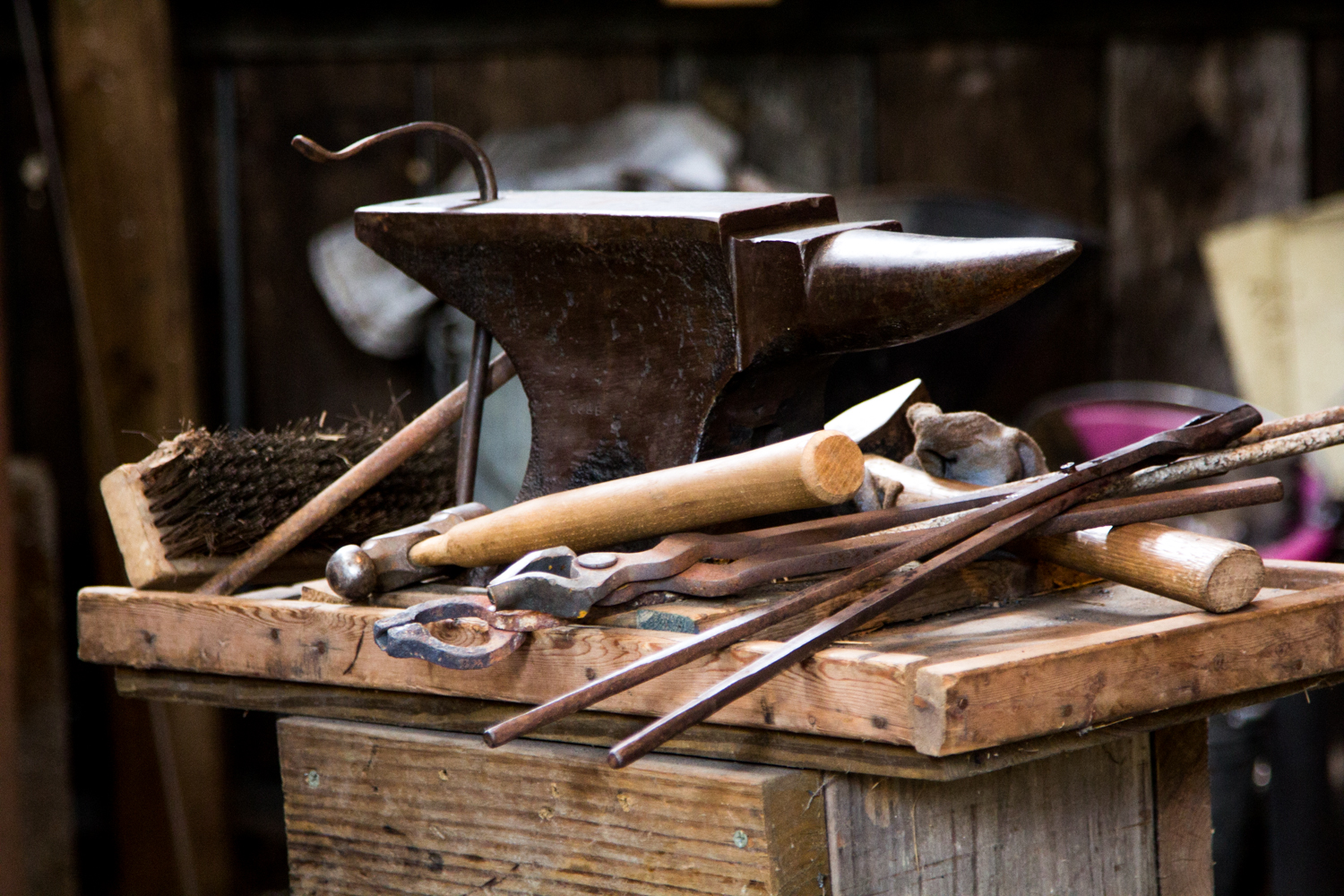 blacksmithing class in Tennessee
